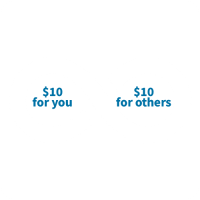infinity symbol with text